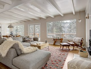 Get Cozy in this Stylish, Private, 3BD Mountain Home