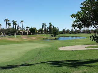 Beautiful 3 bedroom, 2 bath condo with golf course views at Desert Princess