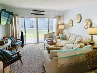 Beachfront condo at SURFSIDE 2BR/2BA/Sleeps 6. 4831 Saxon Drive