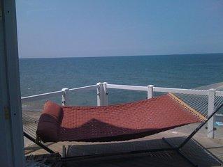 5 Bedroom Beach House at Baer Beach 1 mile to Presque Isle Park