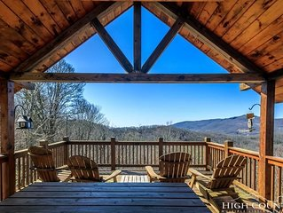 Sugar Mountain getaway with a sweet view!