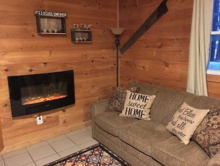 3 Bed 1 Bath Cozy Cabin  Wi-Fi  1 Mile From Tippy Big Manistee River