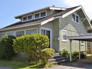 Close to Beach &; Town – Great family home, 1 block to beach, FREE WIFI as of 5/