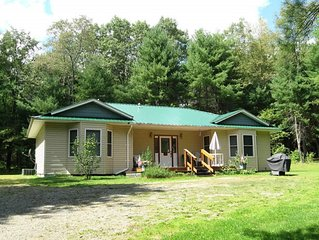 Lovely recently built ranch with central air only 15 minutes to ballparks.