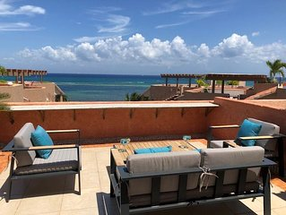 Renovated Penthouse 2BR 2BA, Infinity Pool, On Beach, Private Rooftop,  WiFi , S