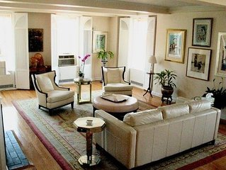 LUXURY 57th St.-EXTRA LARGE CONDO, 3/3, 360 VIEWS, Garden, Central Park, Theater