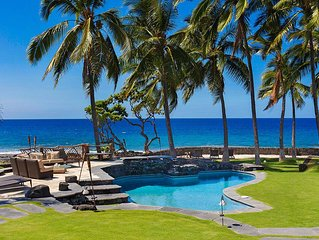 BEAUTIFUL OCEANFRONT 5 STAR Luxury Villa/Heated Pool/JACUZZI