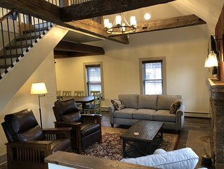 Newly remodeled former carriage house in heart of Bolton Landing on Lake George