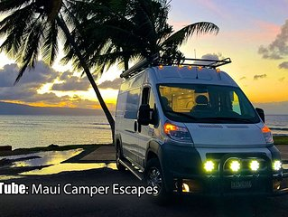 FOR UPDATED AVAILABILITY PLEASE VISIT OUR SITE: MAUI CAMPER ESCAPES