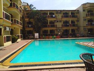 Beautiful resort home-Near Calangute & Baga beach