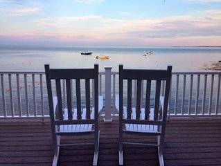 Beach house right on the water/ Spectacular views/7bdrms private beach fall rate
