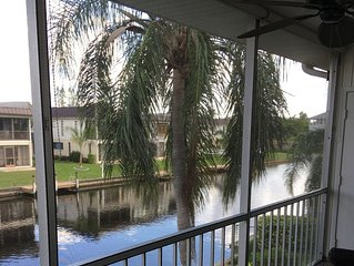 Beautiful Waterfront Condo with Gulf Access. Location location location !!