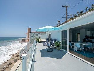 Stunning OceanFront 3 Bedroom Malibu Condo