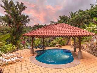 House in Tropical Eden Walking Distance to Beach