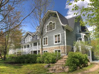 Les Manoirs - On Resort - Walk to Village/Mountain & Trails - Provided snow shoe