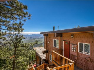 NEW! Walk to Heavenly! Mountain view condo w/shared hot tub & pool - one dog OK!