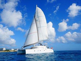 Crewed 52 Ft Luxury Catamaran Charter - Explore The Grenadines In Comfort!