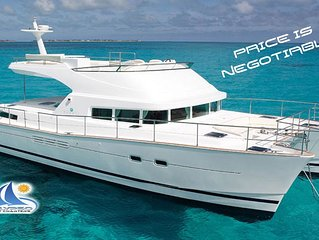 All Inclusive Liveaboard Luxury Catamaran in Belize