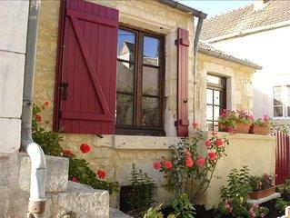 Quaint Stone Romantic Cottage on the Loire!
