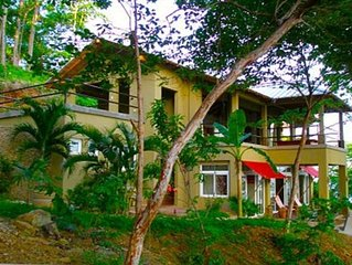 Beachfront Secluded Paradise with Pool Overlooking the Ocean.