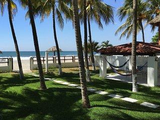 Brand New Beachfront House In Exclusive Beach