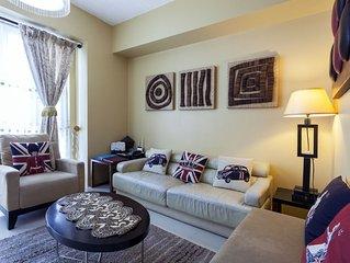 Elegant 56 Sqm - 1 Bedroom Condo with Balcony *  Greenbelt Makati
