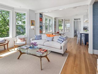 Stunning, newly built Cohasset seaside home with incredible ocean views