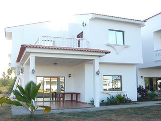 Beautiful Duplex Seafront With 3 Bedrooms In Huge Residence With Pool.