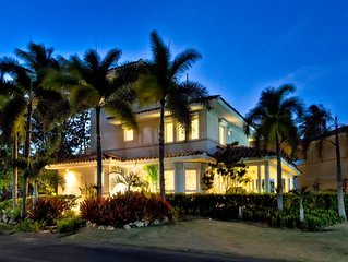 High End Beachfront Family House * Dorado Beach Resort