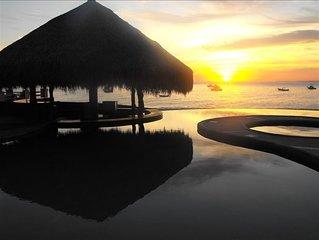 VILLAS DE CORTEZ, Beachfront, Poolside, First Floor,  1 BR Condo