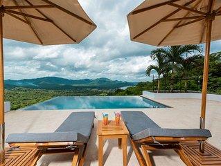 New Modern Four Bedroom Villa in Paradise