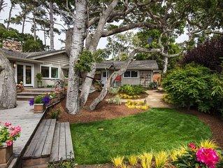 Pebble Beach Golf ~ Modern, Newly-Renovated Family Home