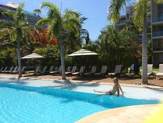 Luxurious apartment in Mareia Ixtapa at the Marina