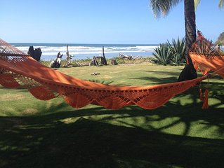 Beautiful Beachfront property in San Miguel, Guanacaste, sleeps 12