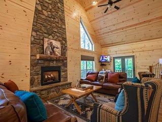 Two story – 3 bedrooms – 3 baths – sleeps 8 – carson creek area – creek side – p