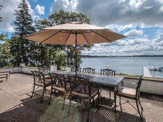 Lake Geneva Lakefront Cottage