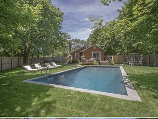 Perfect beach house, south of highway Quiogue/Westhampton Beach - Pool, Hot Tub