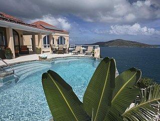 Major WOW Factor! Stunning View! Oceanfront Villa Viento
