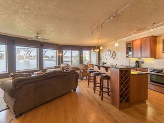 Luxury bay front condo just south of the Newport bridge with stunning views!