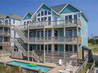 Watch the waves from the deck w/Htd Pool&HotTub, Elevator