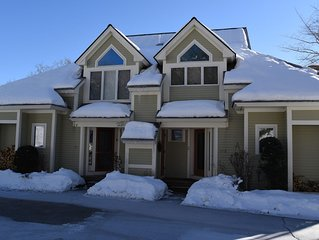 Ski in Ski out Black Mountain Luxury Townhome