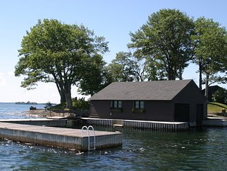 Thousand islands , 'Boat and Mainland Parking included'