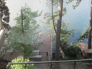 Lakefront Executive Home on Long Lake with private dock