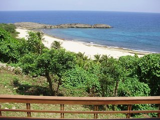The Yellow House: Fully Equipped Villa - 2915  Spectacular Beach View