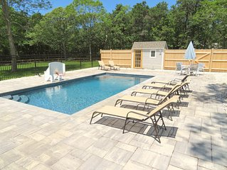 Two Cottages with a New Pool, 1/2 mile to Private Beach; 048-B