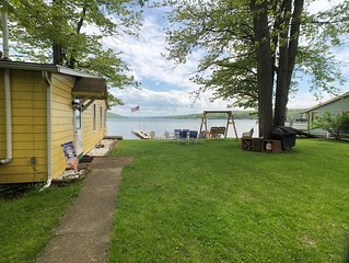 NEW LISTING! Aloha Sunshine on Keuka Lake's west branch with lake frontage