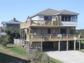 Oceanside in Rodanthe w/Htd Pool&HotTub, PetFriendly