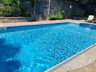 Downtown Pool Home: Walk to Victoria Park & Boardwalk