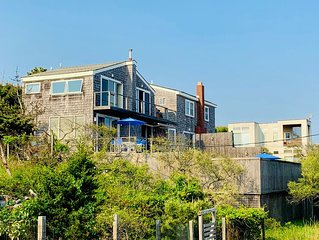 Fire Island Pines 2 bed/2.5 bath pool home with ocean views from all rooms