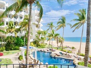 Luxurious Beachfront Villa.